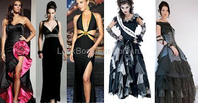 Випускні сукні чорного кольору