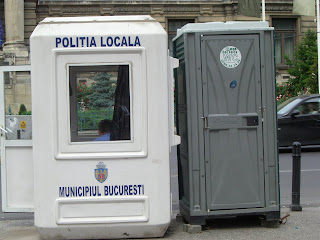 Bucharest's finest have top notch working conditions.