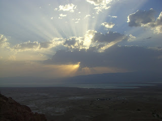 Sunrise over Jordan.