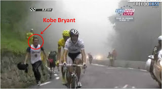 Back-to-back NBA titles and a chance to run alongside TdF riders on the Tourmalet?!  What a great life!
