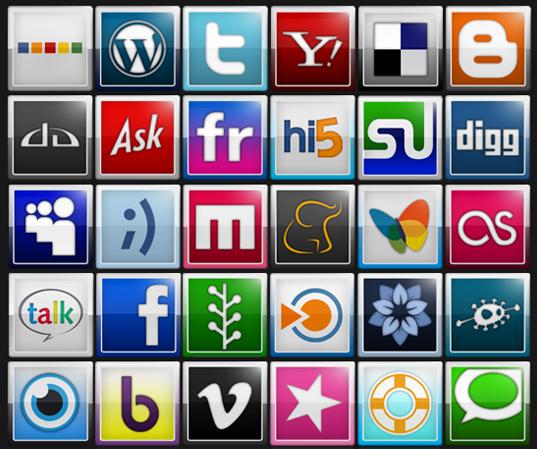 65 Social Icons