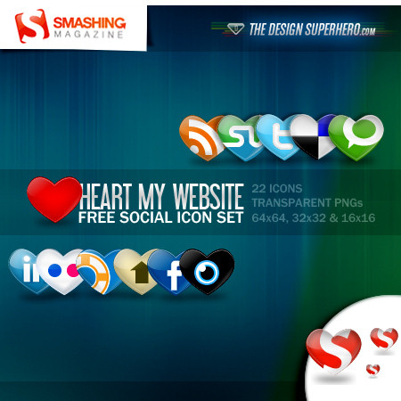 Heart: A Free Social Icon Set