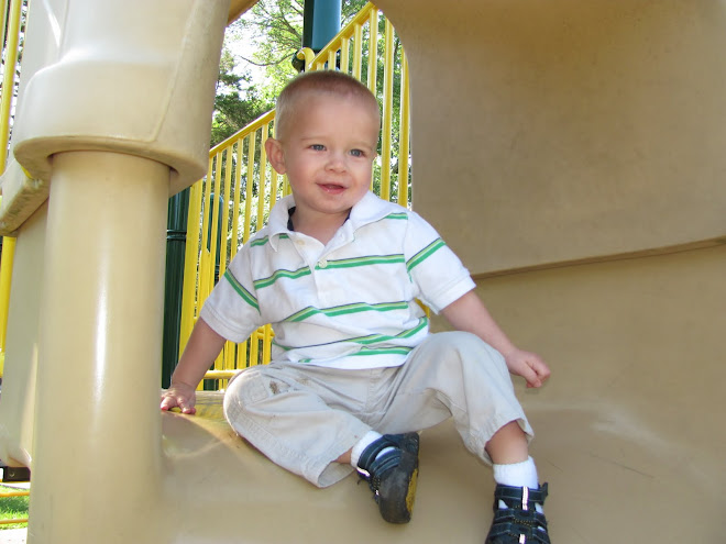 Playing at the park.