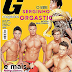 """""""G Magazine"""" Ex-BBB Serginho posa Pelado e com cobra para capa"""