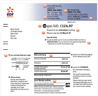 EDF Energy Bill - EDF Gas Bill - Ways to Pay EDF Bill