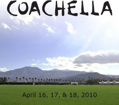 Coachella 2010 Lineup, Schedule &amp; Ticket Announcement
