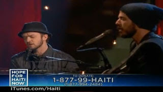 Justin Timberlake Haiti Performance Video