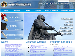 Ateneo Graduate School of Business Website(Gsb.Ateneo.Edu) Review