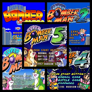 Super Coleccion De Bomberman [1-2-3-4-5]