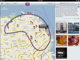 Yahoo! lanza Sketch-a-Search para iPad y lo actualiza en iPhone