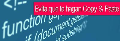 Deshabilitar Selección del Texto con JavaScript