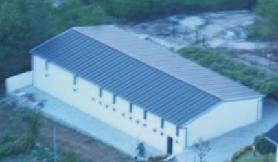 Imagem aérea do Serra Centro D'Arte