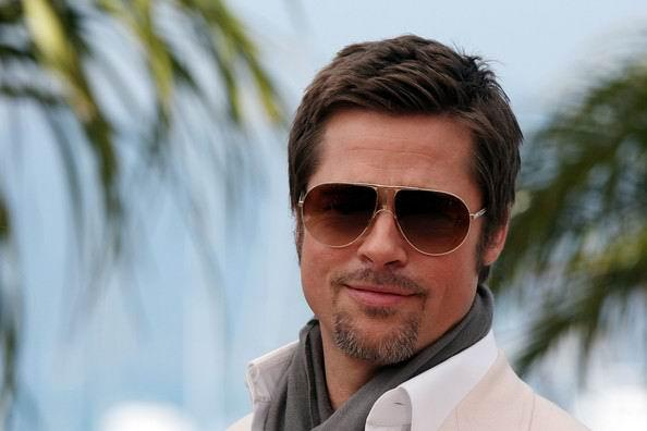 brad pitt 2010 hairstyle. Cool Brad Pitt Short Hairstyles for Mens Right Hairstyle For Face Shape Men;