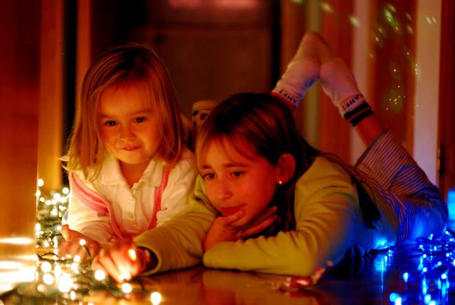 Pasmadillas con las luces