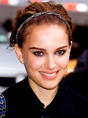 Natalie Portman's short cropped hairstyle