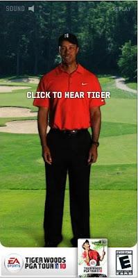 クリックされるバナー:タイガーウッズ