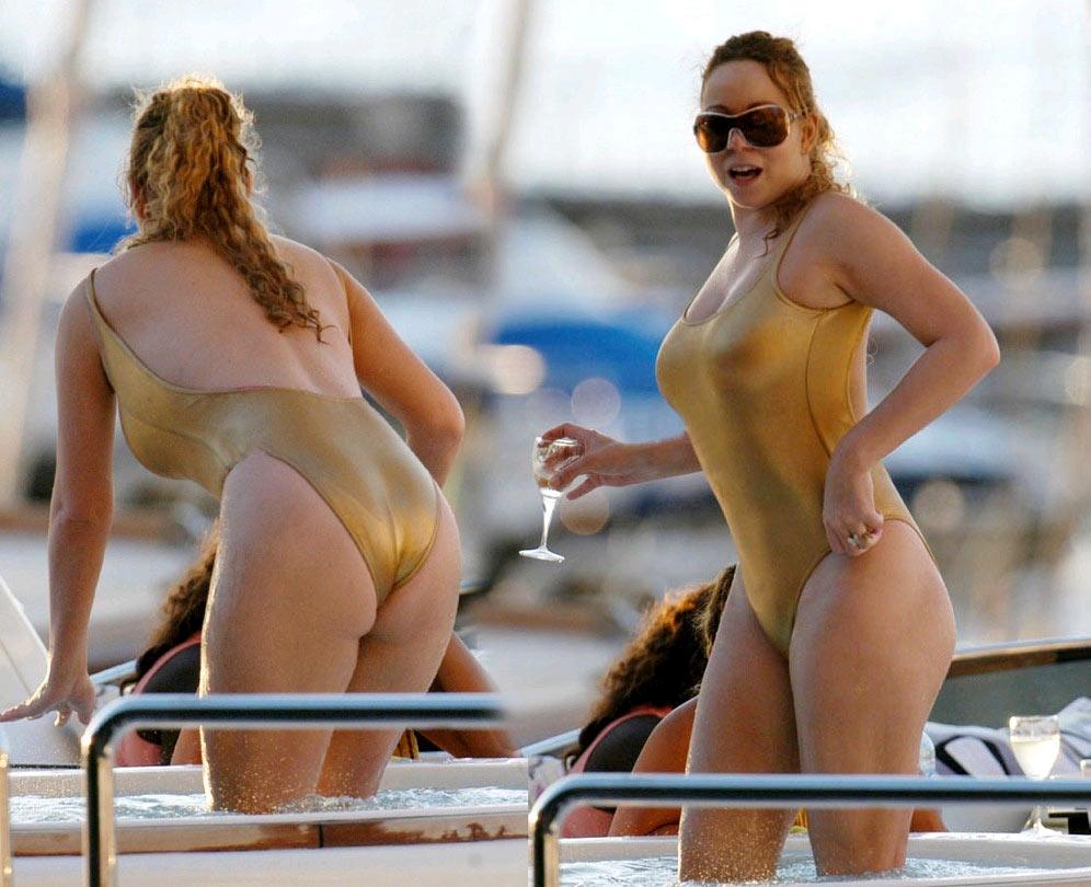 Mariah Carey muestra su cuerpo en un sensual bikini