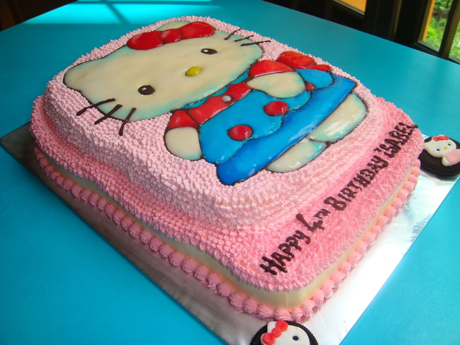 Yummy Baking: Hello Kitty Fresh Cream Cake (pic-1)