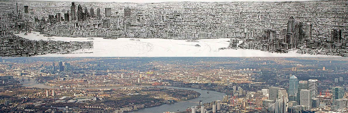 Pics Of New York Skyline. Amazing Portrait of New York