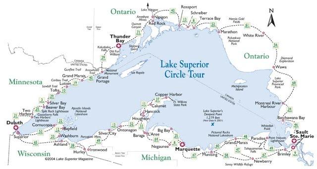 Lake Superior Bathtub Island