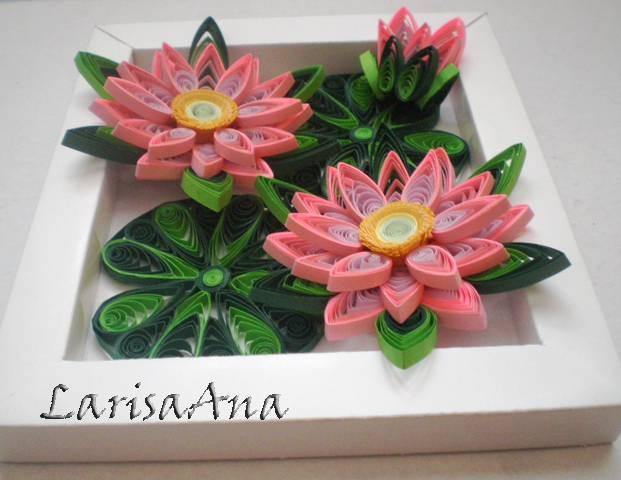 Объемные цветы из квиллинга своими руками 25