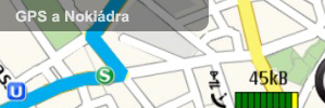 GPS a Nokidra