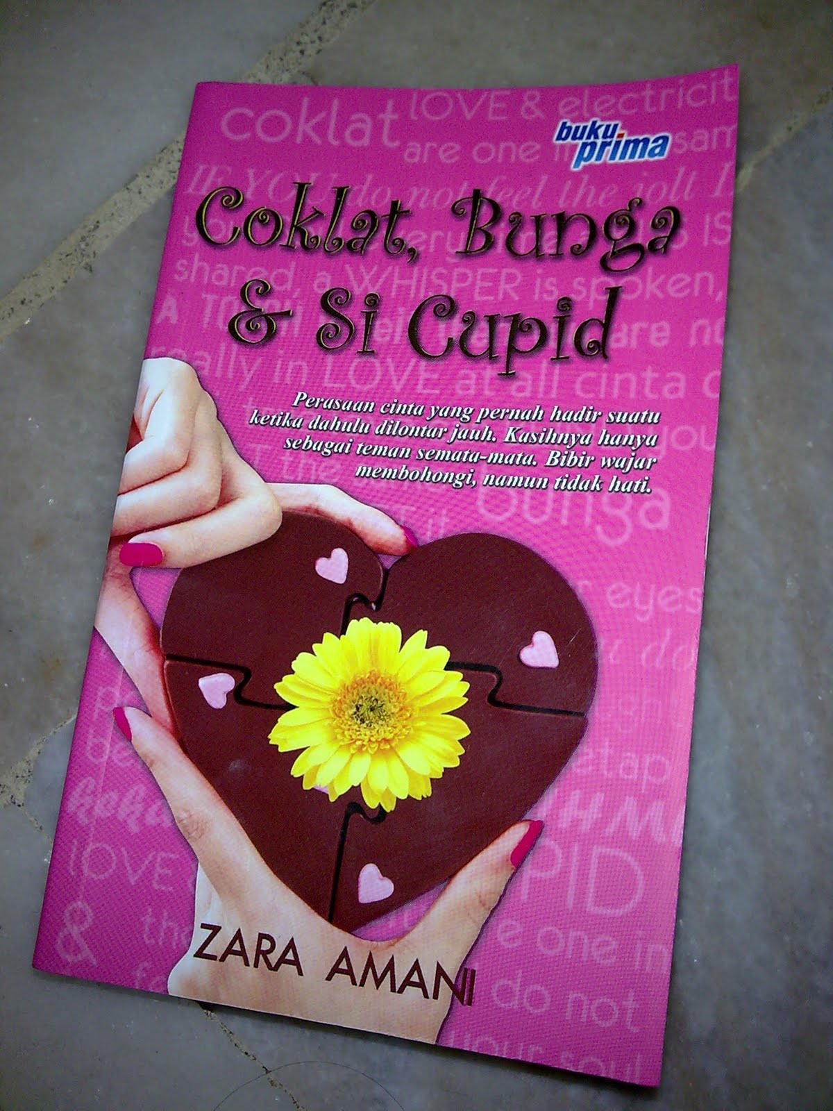 Coklat Bunga & Si Cupid: Zara Amani-SOLD OUT