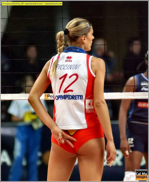 Volleyball player francesca piccinini agree, the
