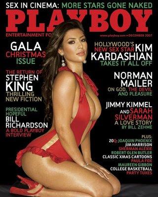 kim kardashian playboy pics