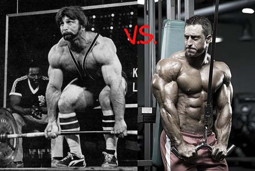 strength training vs bodybuilding Yoga vs bodybuilding  but if you can maintain your flexibility while developing the muscle, the muscle will be able to develop more strength and power.