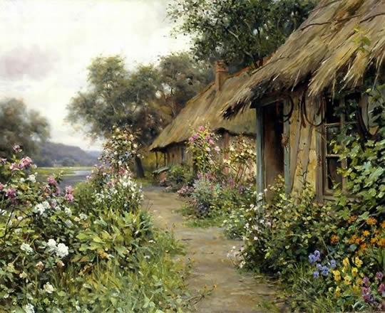 Paisagens do campo em lindas pinturas - 03