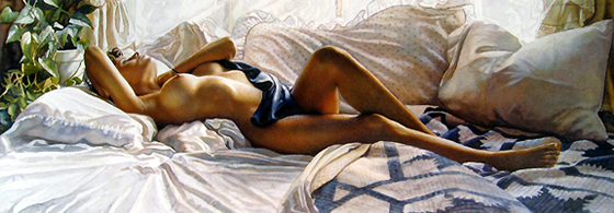 A sensualidade feminina nas pinturas de Steve Hanks - 08