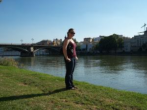 El rio y yo...