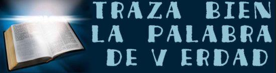 TRAZA BIEN LA PALABRA DE VERDAD