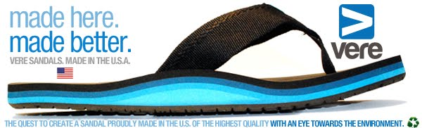 VERE SANDALS Made in the U.S.A.