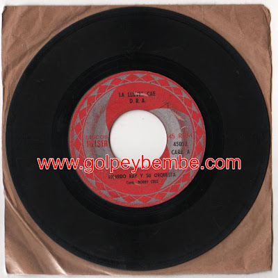45 rpm Ricardo Ray - Sello Melser