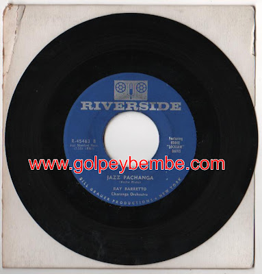 45 rpm Ray Barreto - Sello Riverside
