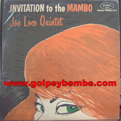 Joe Loco - Invitation to the Mambo front
