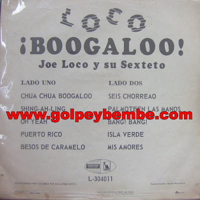 Joe Loco - Loco Boogaloo Back