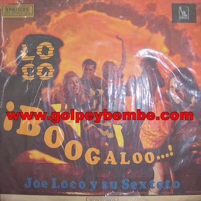 Joe Loco - Loco Boogaloo Front
