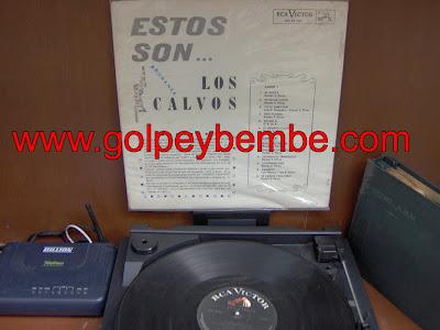 Ray Perez & Los Calvos - Estos Son Los Calvos Back