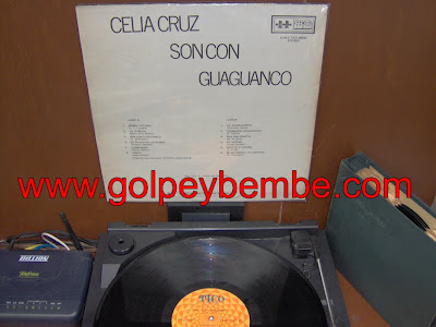 Celia Cruz - Son con Guaguanco Back