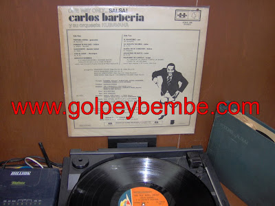 Carlos Barberia y su Orquesta kubavana - One Way Only Salsa Back