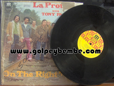 Tony Pabon & La Protesta - On The Right Track