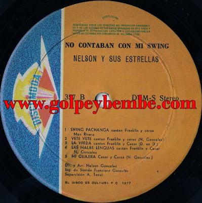 Nelson Gonzalez con Cesar Nicolas - No Contaban con mi Swing B