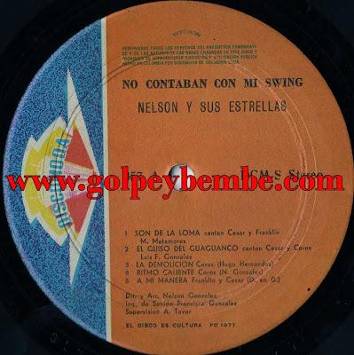 Nelson Gonzalez con Cesar Nicolas - No Contaban con mi Swing A
