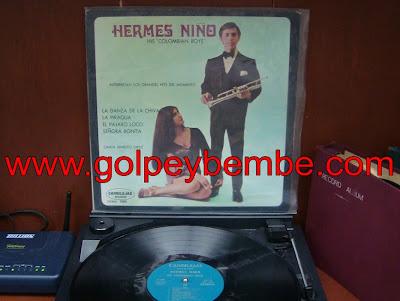 Hermes Niño y sus Colombians Boys - Primer lp