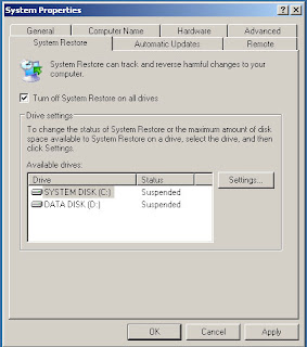 How to Turn Off System Restore