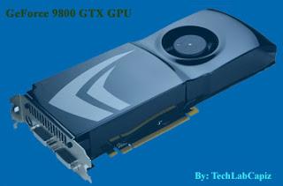 NVIDIA GeForce 9800 GTX Graphics Card