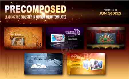 Agaglotel download pro motion menu kit for Encore cs6 menu templates free